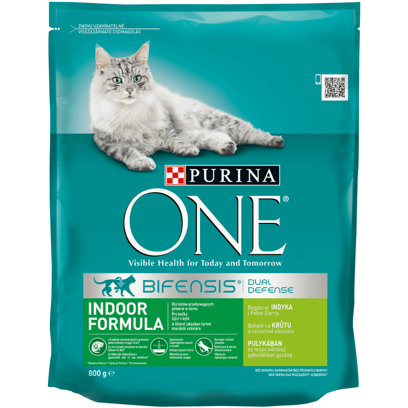 ​PURINA ONE Indoor, Bogata w indyka