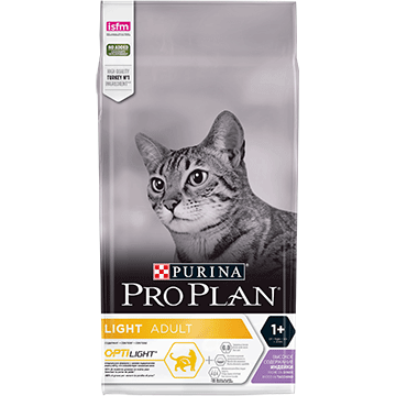 PURINA® PRO PLAN® LIGHT Bogata w indyka