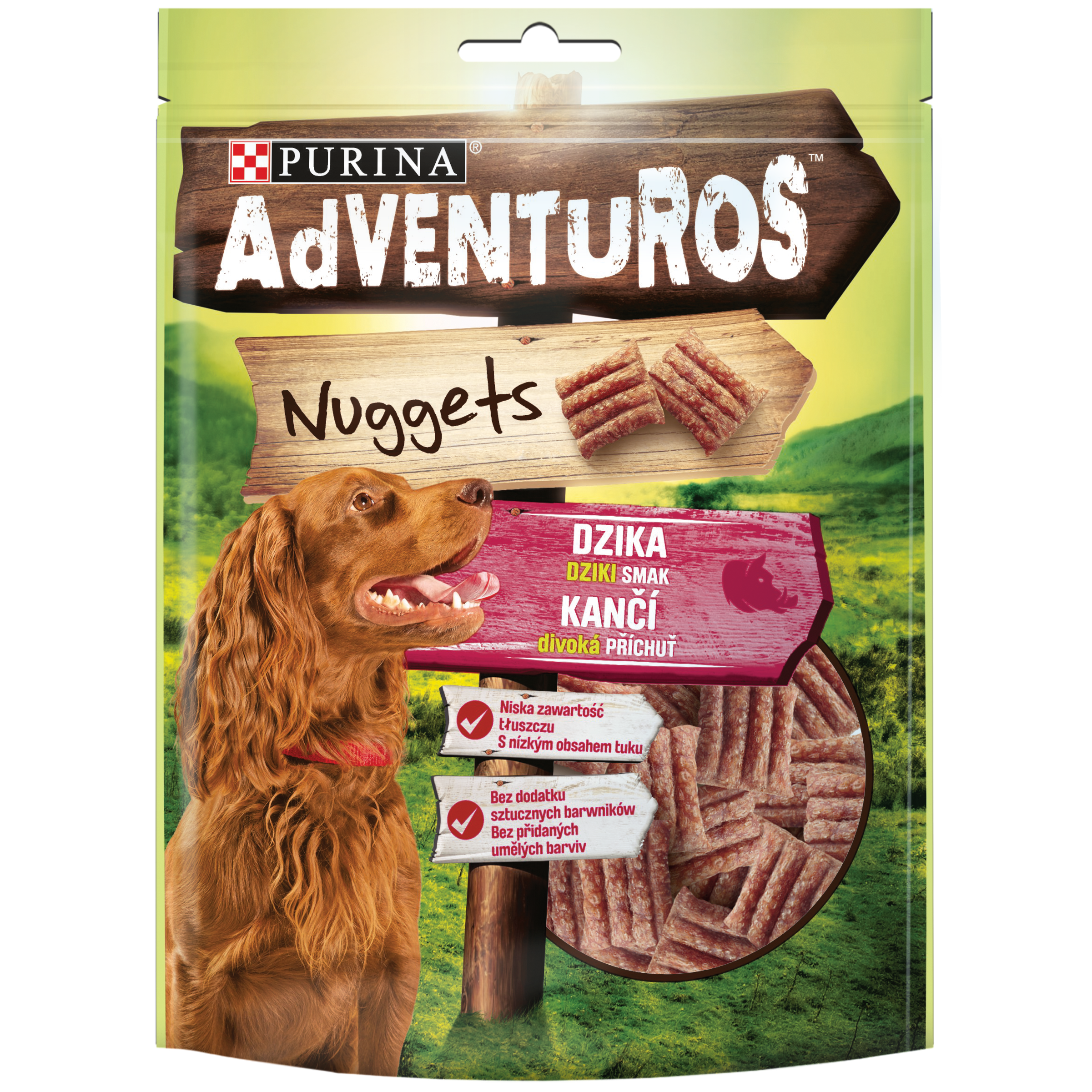 Purina AdVENTuROS Nuggets Dziki smak dzika