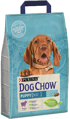 Purina DOG CHOW® Puppy z Jagnięciną